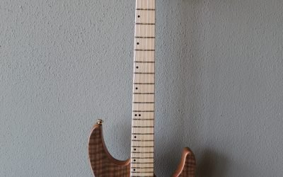 Just added to the store: Used Charvel Pro-Mod DK24 HT – Natural Walnut Electric Guitar